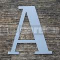 """Nerezové súpisné písmeno veľké  """"A"""""""