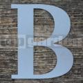 """Nerezové súpisné písmeno veľké  """"B"""""""