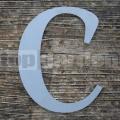 """Nerezové súpisné písmeno veľké  """"C"""""""