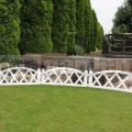 Plôtik do záhrady biely 2,3m
