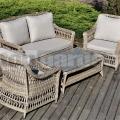 Ratanový záhradný nábytok Retro