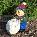 Snehuliak so snehovou guľou 191