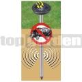 Solárny odpudzovač krtkov art 0700