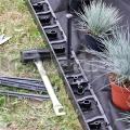 Stratený obrubník 45 mm zosilnený