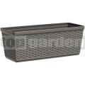 Truhlík 50 cm šedý Casa Mesh Emsa 517488