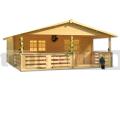 Záhradná chata BPP 10 s terasou