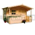 Záhradná chatka BARBORA s terasou