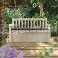 Záhradná lavička s úložným boxom Eden 265 l