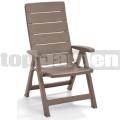 Záhradná stolička Brasilia Cappuccino 221203