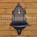 Záhradná studnička VERONA hammer striebro