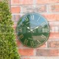 Záhradné hodiny Akácia zelené