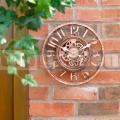 Záhradné hodiny Clockwork bronze6