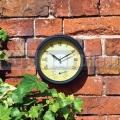 Záhradné hodiny s teplomerom GCT100
