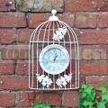 Záhradné hodiny Vtáčia klietka GBIRDC