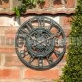 Záhradné nástenné hodiny Clockwork7