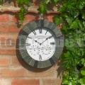 Záhradné nástenné hodiny Silverbell