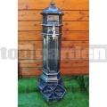 Záhradný hydrant Style antik striebro