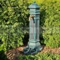 Záhradný hydrant Style antik zelená