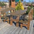 Agátový záhradný nábytok Atlas