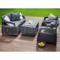 Záhradný nábytok Corfu box set AG 223174
