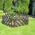Záhradný plôtik 3,5m hnedý
