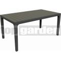 Záhradný stôl Harmony antracit 224702