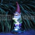 Záhradný trpaslík so solárnym svetlom SLGNOME2