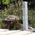 Záhradný vodovod s imitáciou kameňa