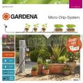 Zavlažovanie kvetináčov s automatikou Gardena 13002-20